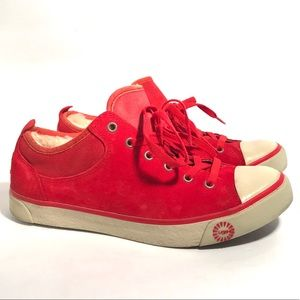 UGG Evera Red Sneakers